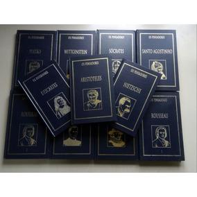 Livro Coleção Os Pensadores Editora Nova Cultural 11 Volumes