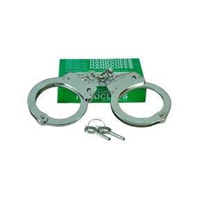 Algemas Para Policias Civis, Pms E Seguranças 3 Unidades