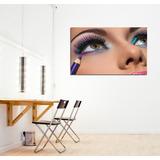 63cdcd67904 Cuadro Estetica Make Up Maquillaje Colores Belleza 20x30cm
