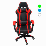 Silla Gamer Audiotek Gaming Consola Pc Ergonomica Reclinable