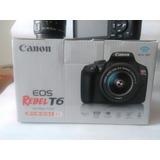 Canon T6 Con Caja Y Factura
