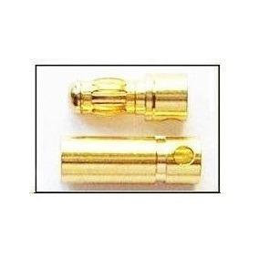 Conector Esc Motor Bateria Gold Bullet 3.5 Mm 10 M+10 F