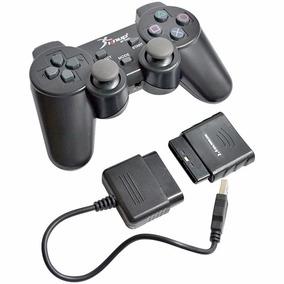 Controle Sem Fio Dual Shock Ps1 Ps2 Ps3 Pc Knup Kp-5423(3d)