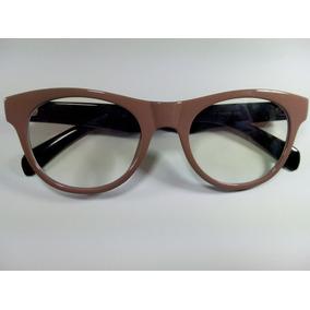 ba457bf17caa7 Armação Óculos Grau Ray Ban 6166 Prata Com Haste Marrom - Óculos De ...