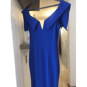Vestidos de moda color azul electrico