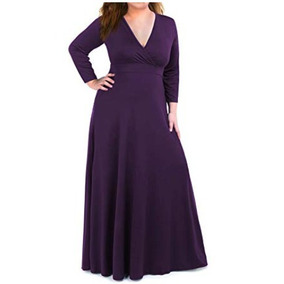 6552c3e7c2 Vestidos De Noche Df Insurgentes Mujer Sinaloa - Vestidos Violeta oscuro en  Baja California en Mercado Libre México