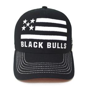Bone Black Bull Country - Bonés para Masculino no Mercado Livre Brasil 47da8efb420