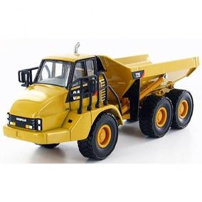 Caminhão Articulado 725 Cat Esc 1:50 - Trator Miniatura