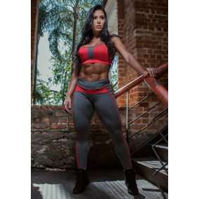 Conjunto Fitness - Legging + Top (frete Único - R$ 18)*