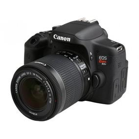 Cámara Canon Eos Rebel T6i 18-55mm + Lente 17-55mm 2.8 + Msi
