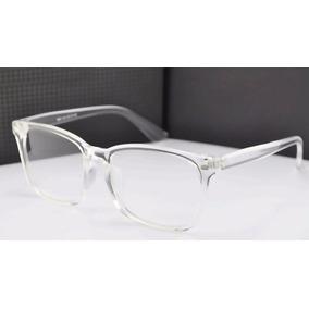 e04ac79deba45 Armacao De Oculos Grau Transparente Grande - Óculos no Mercado Livre ...