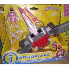 Imaginext - Ranger Rosa E Zoro Pterodáctilo