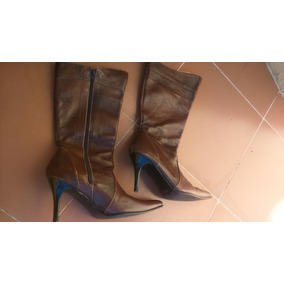 Botas Para Damas Color Vino - Zapatos Mujer Botas en Mercado Libre ... ac255dd346629