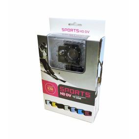 Cam. Sports Hd Dv X4000-3 A Prova De Agua Box*
