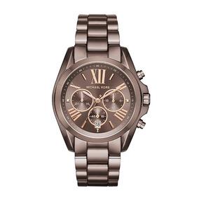 cecc6d5f6f4c2 Relógio Michael Kors Mk5216 Tartaruga Oversized - Relógios De Pulso ...
