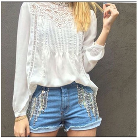 Shorts Feminino Jeans