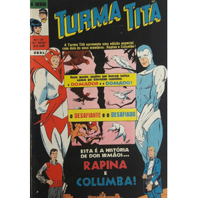 Turma Titã #26 Ebal 1970 O Herói 4a Série Loja De Coleções