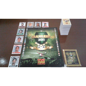 Álbum Campeonato Brasileiro 2011 - Completo Com Autografadas