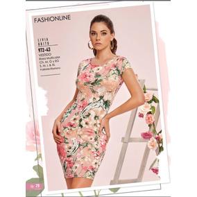Vestidos Flores Cklass/ Mundo Outlet