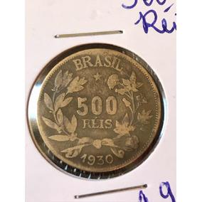 Moeda 500 Reis 1930