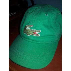 Gorra Lacoste Original Color Verde c231601dd0b