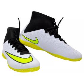 60a2328018 Chuteira Tênis Nn Superfly Cano Alto Futsal Infantil Costur