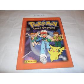 Álbum Pokémon (temos Que Pegar!) - Ano 1999 - Panini - A27
