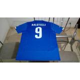 Camisa Oficial Puma Seleçao Futebol Italia Uefa Balotelli 4deb755e8ebb9