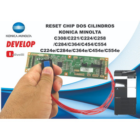 Chip Para Cilindro Konica Minolta C224/c284/c454 (aparelho)