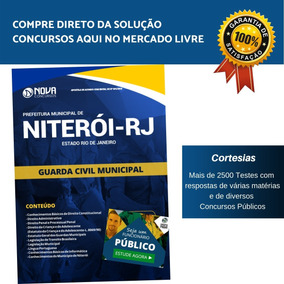Apostila Prefeitura Niterói Rj 2019 - Guarda Civil Municipal