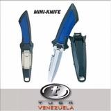 Cuchillo Mini- Fk-11-bk Tusa Submarinismo Buceo Pesca Snorke