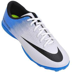 25f98e3797 Chuteira Society Nike Magista Azul - Chuteiras no Mercado Livre Brasil