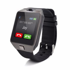 Reloj Celular Smart Watch Dz09 Camara Sim Bluetooth Español