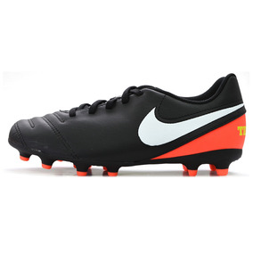 e7a7a9214e4b2 Botines Nike Tiempo Naranjas - Botines Nike para Adulto en Mercado ...