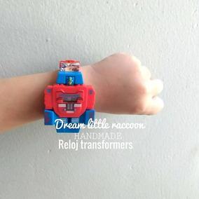 Reloj Transformers