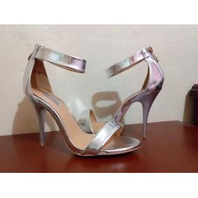 6d4c7b971826c Tacon Plateado - Zapatos Mujer en Mercado Libre Venezuela