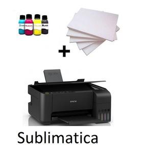 Impressora Sublimatica Epson L3110 +4 Refil + 100 Fls +perfi