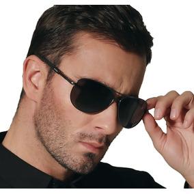 Óculos Escuros Polarizado Masculino Proteção Uv 400 Aviador d7d874d8fb