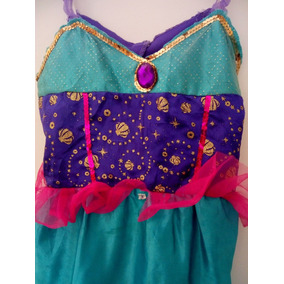 Disfraz Princesa Sirenita Talla 4 Mod S33