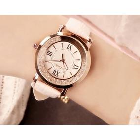 Relógio Casual Feminino Branco