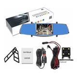 Espejo Cámara Retrovisor Fullhd Audio Micro Sd Retroceso Kit