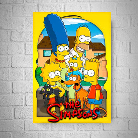 Kit 03 Pôsteres A3 - Simpsons - Frete Grátis (ler Anúncio)