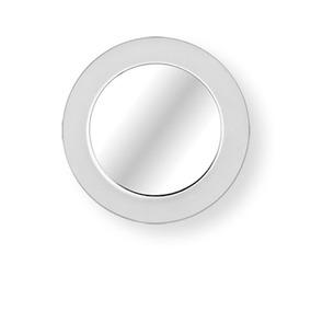 Espejo Baño Redondo Con Zoom Satinado Reflejar Envio Gratis