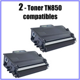 Cartucho De Toner Brother Tn850 Compatible 2pack