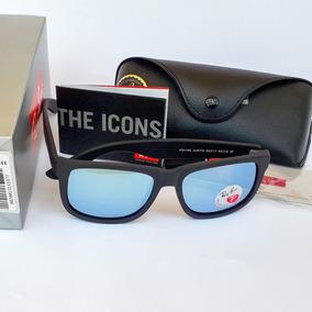 e1e624fbab28a Oculos Rayban Espelhado Masculino Justin - Óculos no Mercado Livre ...