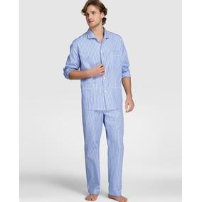 Pijama Liso Hombre Botones - Pijamas en Mercado Libre Argentina 59adcaf8ce590