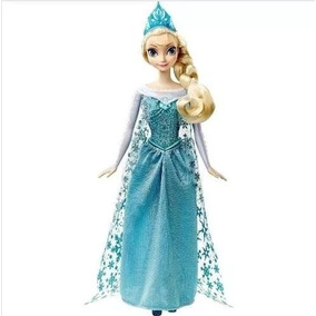 Boneca Elsa Musical Disney Frozen