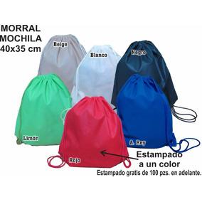 Mochila Morral 35*40 Cm Ecológica Publicidad Promoción