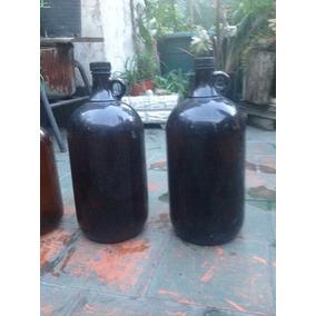 Botellones Vidrio Ambar Utilizados En Cosmetica Natural
