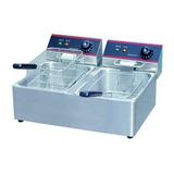 Fritadores Comerciales Eléctrico Eps 6+6 Litros Hef 82a